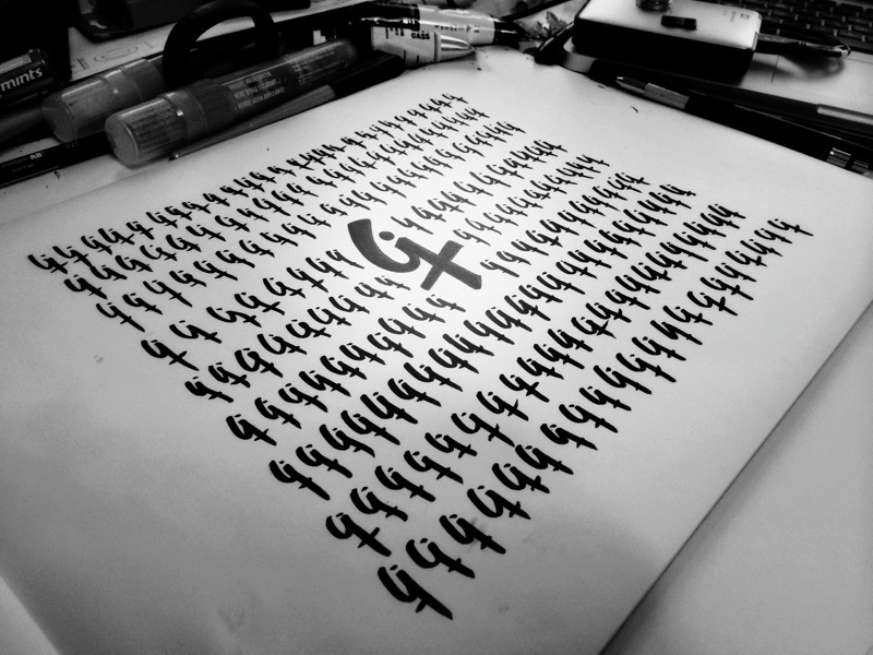 Calligraphy hugo rochette